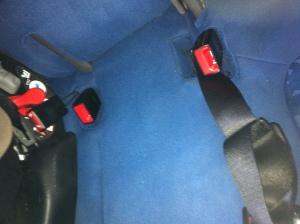 sedile posteriore dopo