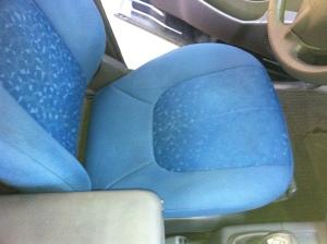 sedile guida dopo